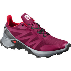 Salomon Supercross Schuhe Damen cerise/pearl blue/coral